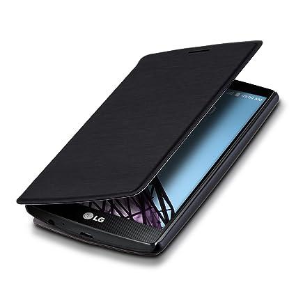 Amazon.com: kwmobile Funda Flip Cover con Soporte para LG G4 ...