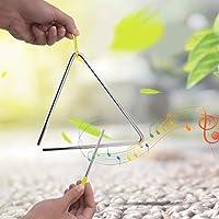 Alta calidad con suspensión amarilla Triángulo de acero de alta calidad, triángulo resistente de 6 pulgadas, instrumento…