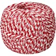 Red White Baker\'s Twine 1/2 Lb Spool (approx 1500 feet / 500 yards)