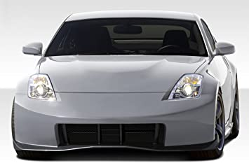 1 Piece Extreme Dimensions Duraflex Replacement for 2003-2008 Nissan 350Z Z33 N-1 Front Bumper Cover