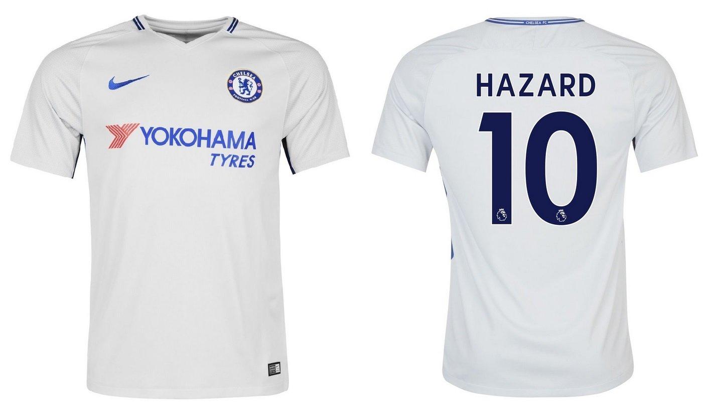 Trikot Kinder FC Chelsea 2017-2018 Away - Hazard 10