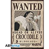 "ONE PIECE - Poster ""Wanted Crocodile"" (52x35)"