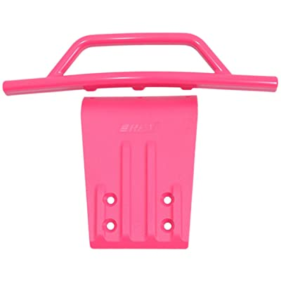RPM Front Bumper & Skid Plate: Pink Slash 2WD N SLH, RPM80957: Toys & Games