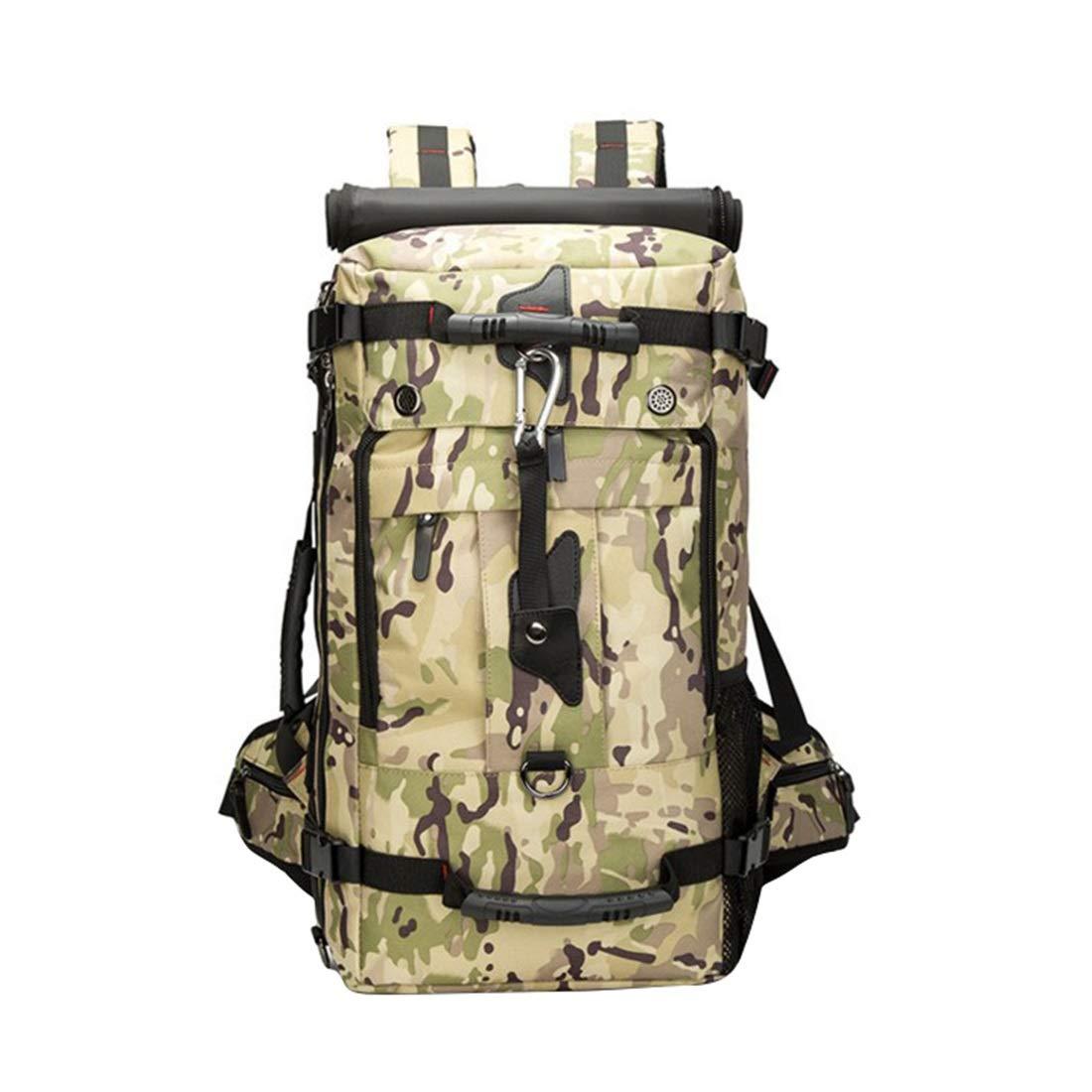 CAFUTY 登山バッグ、屋外用品、ショルダーバッグ、メンズトラベルバッグ、アウトドアスポーツバッグ、アウトドア用品。 (Color : 03)  3 B07MXF229M