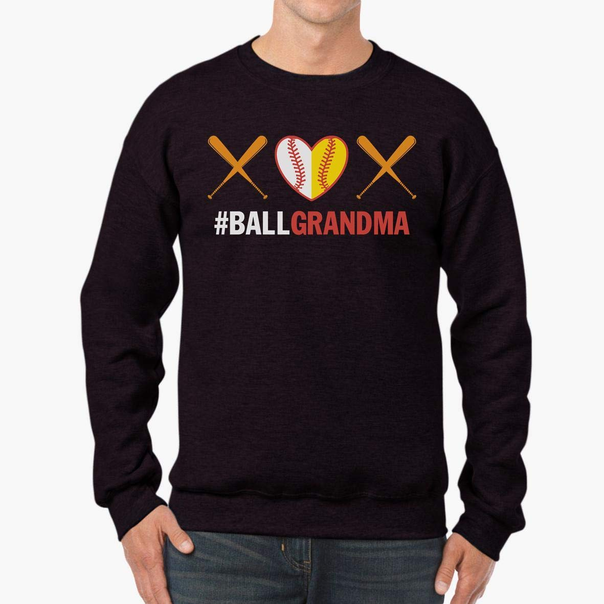 Ball Grandma Softball Grandma Unisex Sweatshirt tee