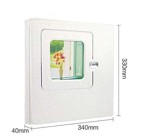 Amazoncom Elegence Z Photo Album Upscale Wooden 20 Pages 10r 10x12