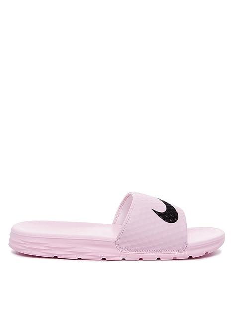 65ffeb08fcbb Nike Women s Benassi Solarsoft Slide Sandal  Amazon.ca  Shoes   Handbags
