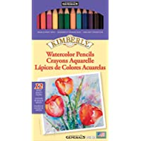 La acuarela de Kimberly dibujó a lápiz los colores 12/Package-Assorted