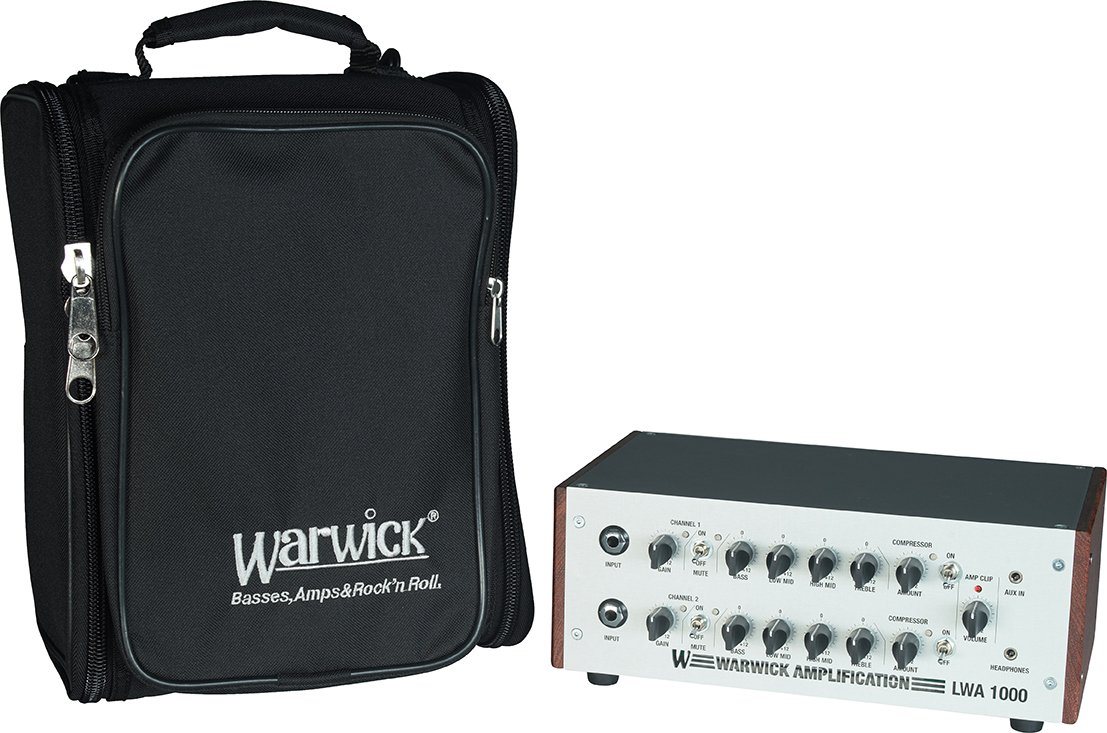 Warwick Bass Amp Accessories WARB23011B LWA 1000 Gig Bag Amplifier Bag