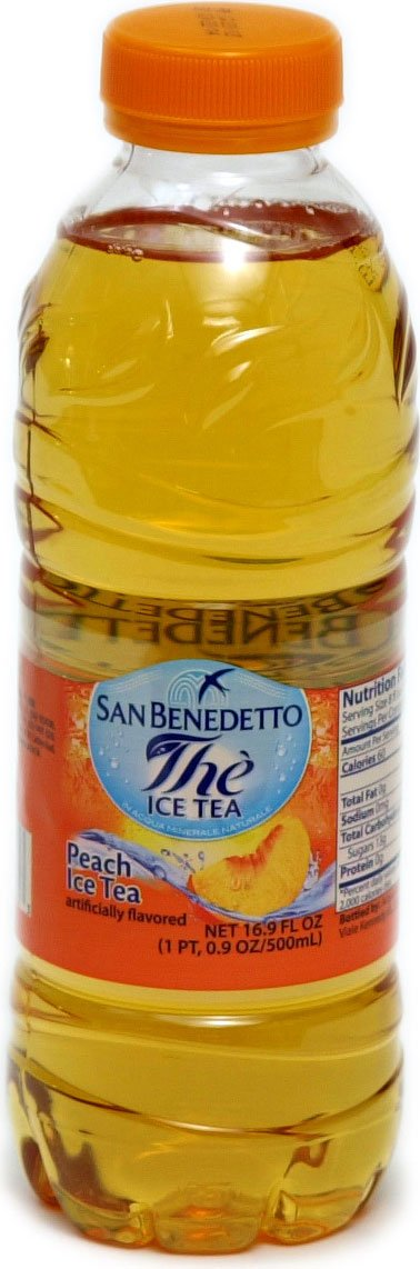 San Benedetto Peach Ice Tea (Pack of 36)