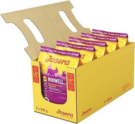 JOSERA Saco de comida para Perro - Miniwell, 900 g, Perro