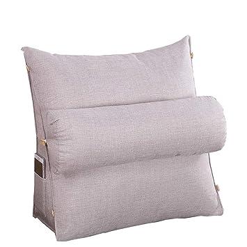 Amazon.com: GGCG Cushion Back Lumbar Support Pillow Reading ...