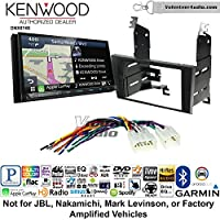 Volunteer Audio Kenwood DNX874S Double Din Radio Install Kit with GPS Navigation Apple CarPlay Android Auto Fits 1998-2005 Lexus GS Series