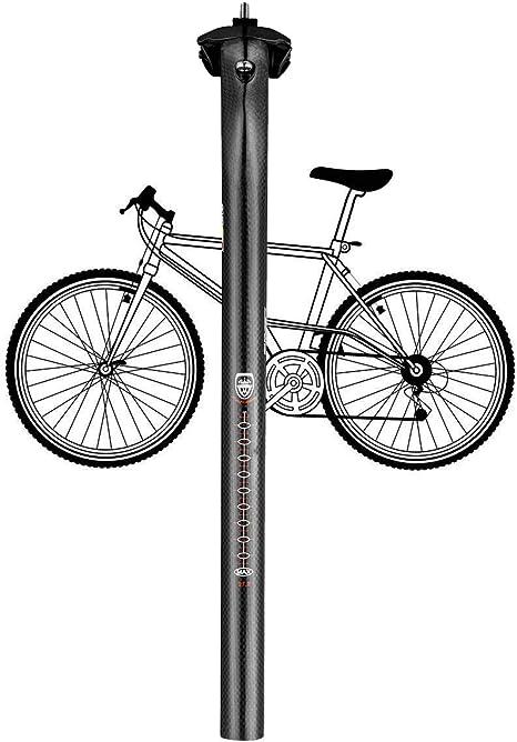 LIDAUTO Fibra de Carbono Tija para Sillín de Bicicleta de ...