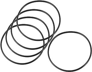 sourcingmap® 115mm x 3,5 mm x 108mm tenuta in gomma filtro olio O ring guarnizioni 5 pz