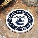 Memory Company NHL Vancouver Canucks Single Swirl Coaster, One Size, Multicolor