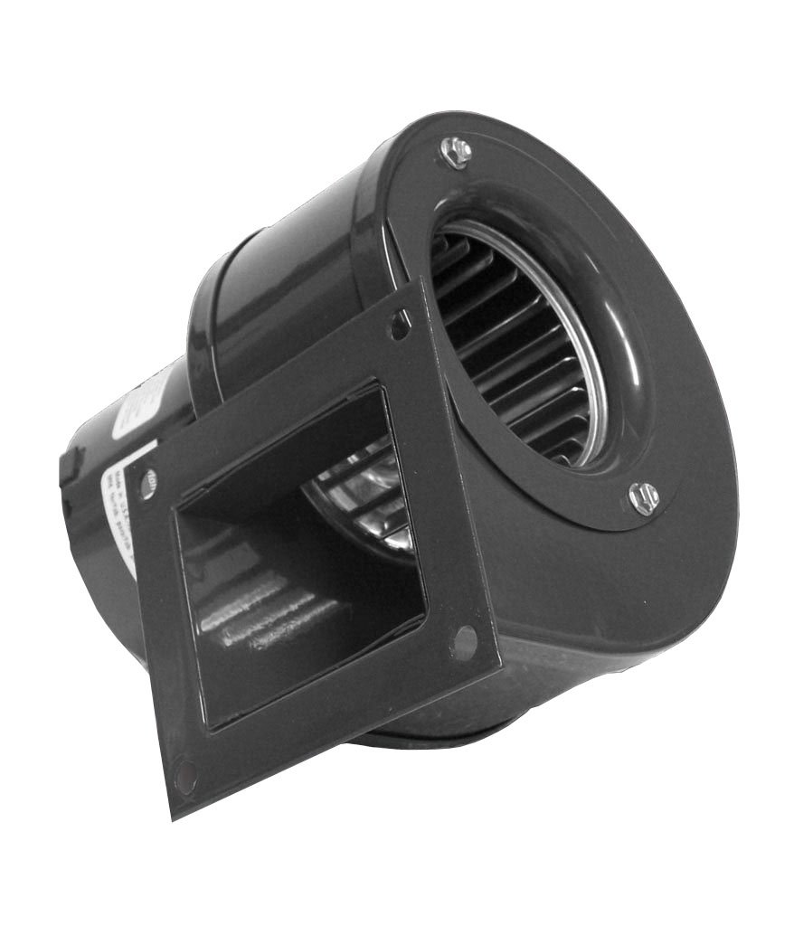 Dayton 4C446, 6FHX8 Rectangular Shaded Pole OEM Specialty Blower with Flange, Wheel Dia: 3-13/16'', 115VAC