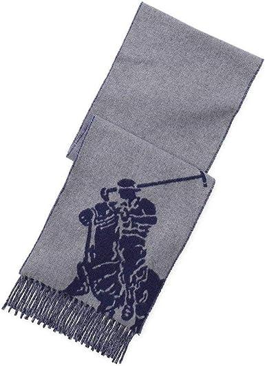 Polo Ralph Lauren - Bufanda - para hombre gris Talla única: Amazon ...