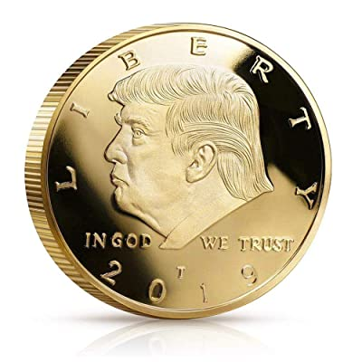 blinkee 2020 Donald Trump Liberty Gold Plated Coin: Toys & Games