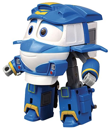Rocco giocattoli robot trains personaggi trasformabili