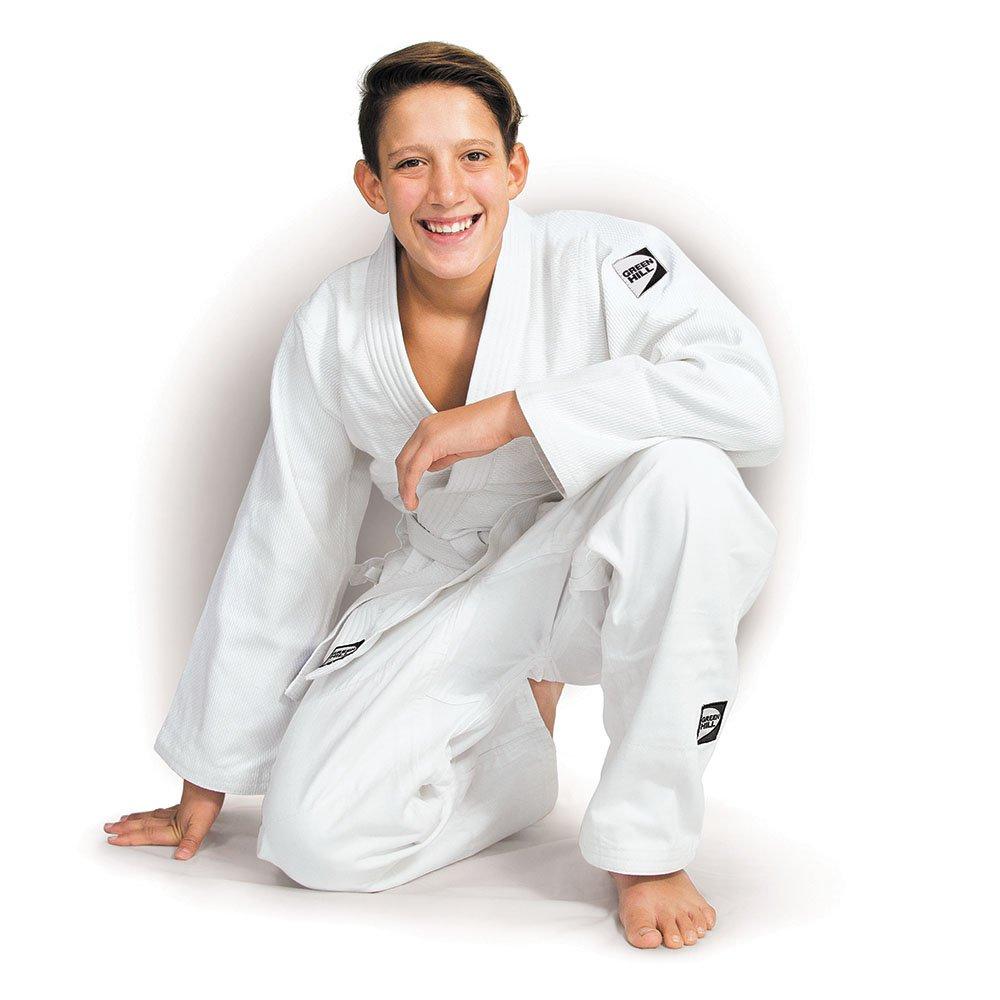 Traje de judo Green Hill Club, kimono, Gi, 450 g/m², talla a ...
