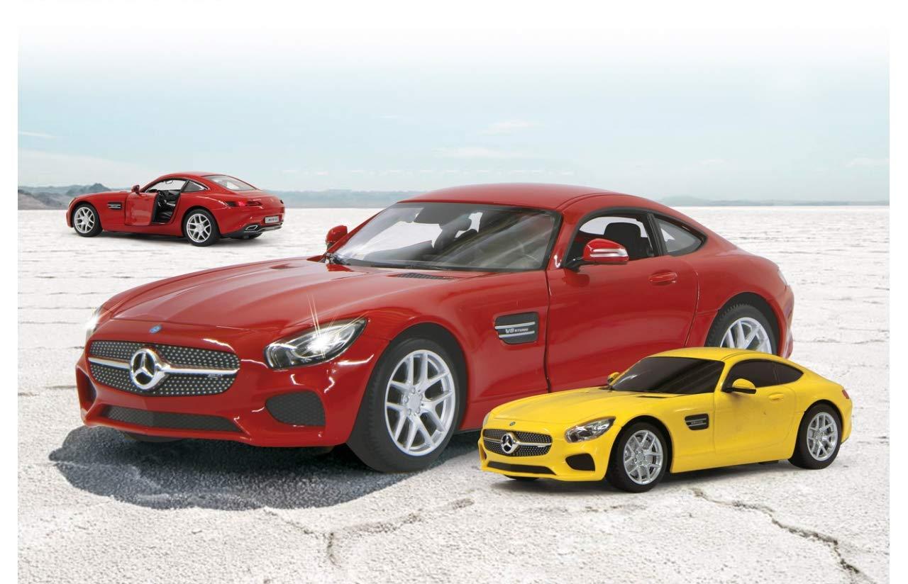 Elektrisches Spielzeug Jamara Mercedes SLS 1:14 weiß 27MHz Tür manuell Fernbedienung ferngesteuert Auto