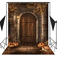 OUYIDA Halloween Pumpkin Theme 5X7FT Pictorial cloth Customized photography Backdrop Background studio prop TP76A