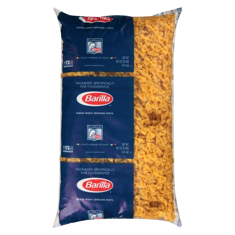 Barilla Farfalle Pasta 10 Pound Bag Pack of 2