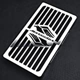 Motorparty Radiator Grill Cover Water Tank Grille Guard Protector For Suzuki Marauder VZ800 VZ 800 1997-2003 2002 2001 1999 1998,Stainless Steel,Eagle With Marauder Pattern
