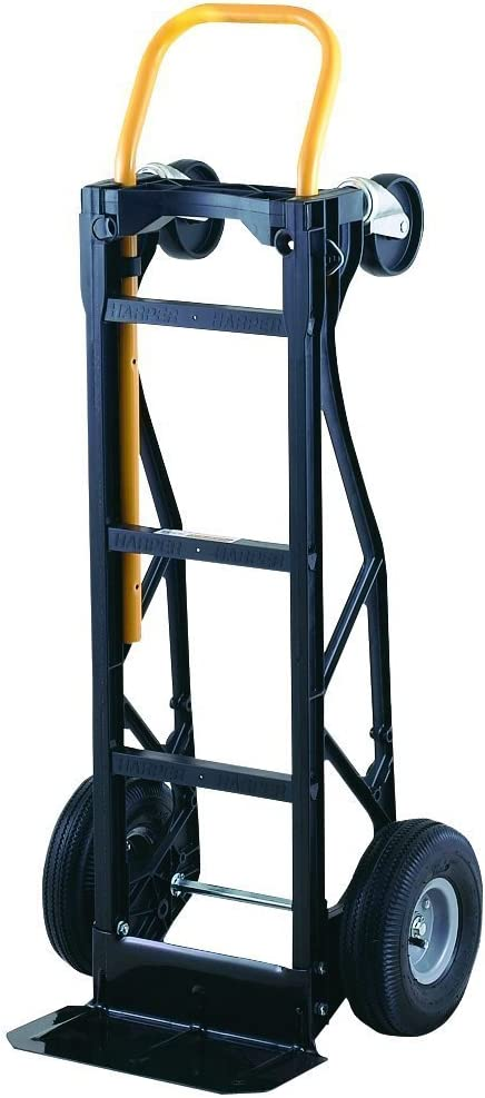Harper Trucks 700 lb Capacity Glass Filled Nylon Convertible Hand Truck