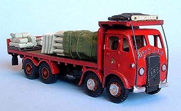 Cabina de Langley Models ERF plataforma sobre camión 1947 / carro OO escala sin pintar Kit G75: Amazon.es: Juguetes y juegos