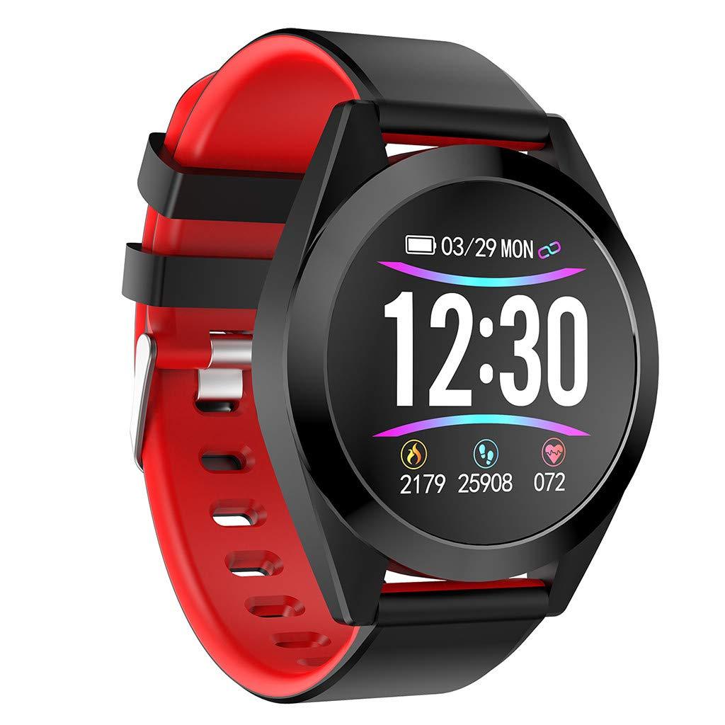 Qomomont Reloj Inteligente, Smartwatch Pulsera Inteligente ...