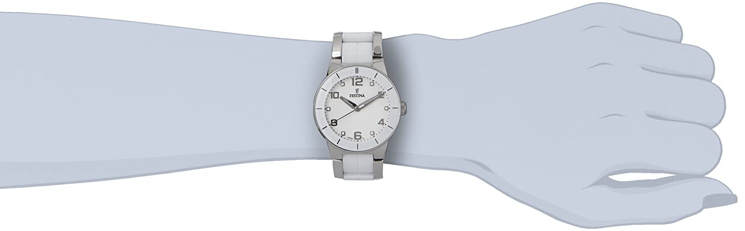 Amazon.com: Festina Ceramic Collection Womens With Ceramic Elements: Festina: Watches