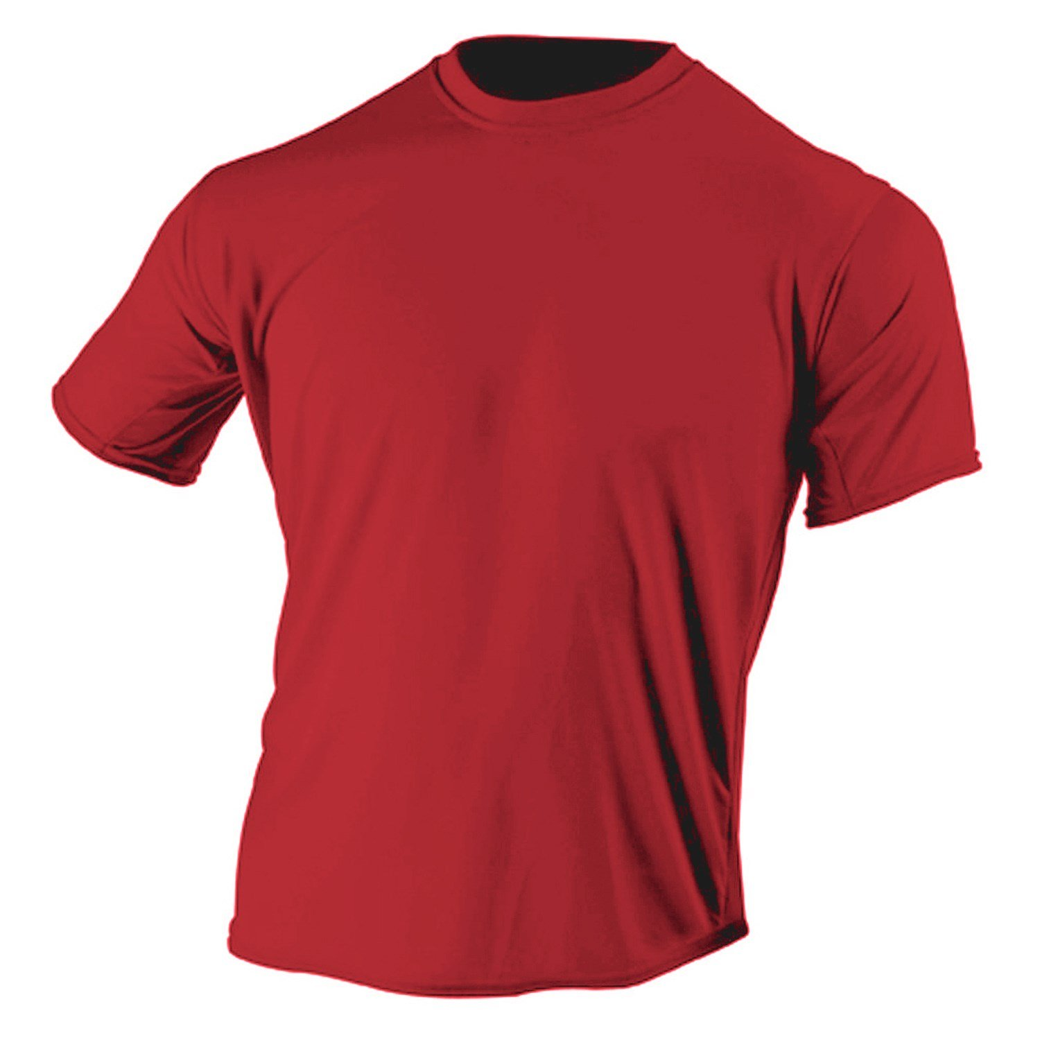 McDavid 905T Mens Half Sleeve Referee Cutcrew T Shirt Scarlet Small [Misc.]
