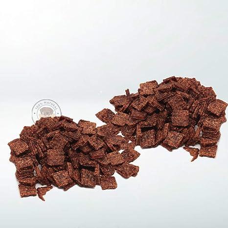 Snack Deshidratado para Perros - 2 Bolsas de 500 gr - Nugget de Pollo para Perros - 100% Carne de Pollo - Sabor Único - Encías Saludables - 100% ...