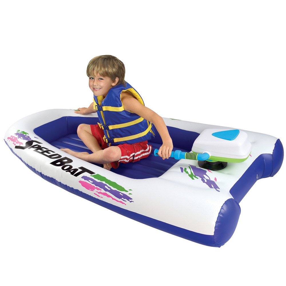 Amazon.com: Excalibur Motorized velocidad Barco Inflable ...