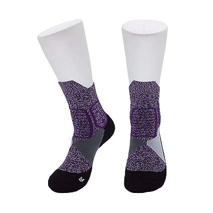 STFXSX Calcetines Calcetines de Baloncesto Calcetines de Toalla Calcetines Deportivos en el Tubo Calcetines de élite