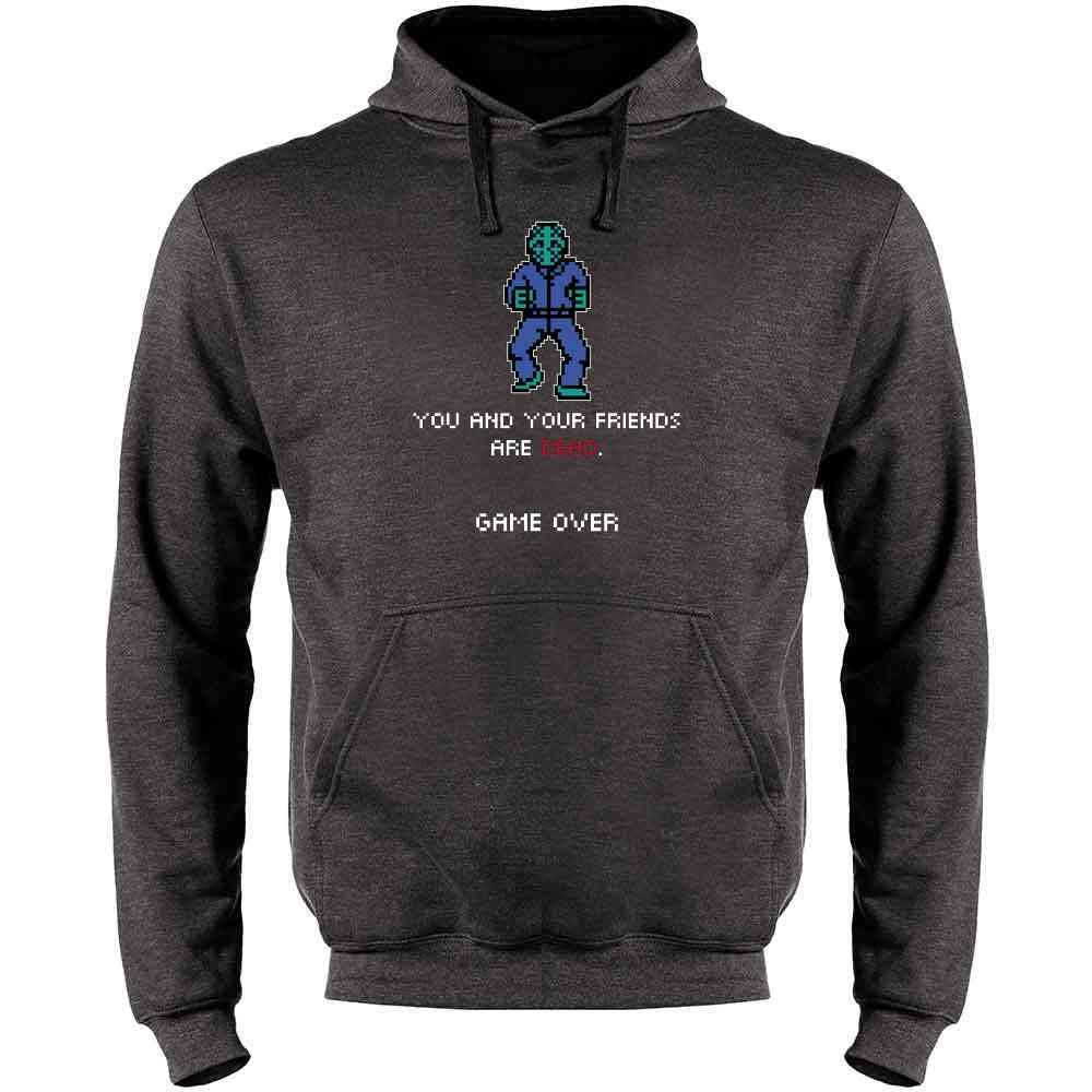 You and Your Friends are Dead Game Over Gaming Mens Fleece Hoodie Sweatshirt