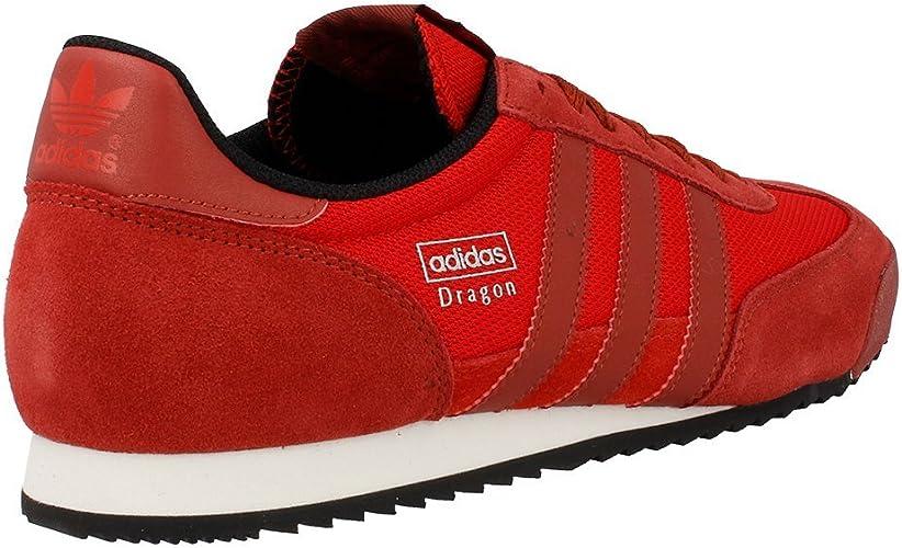 amenaza termómetro Residencia  Adidas - Dragon - Color: Rojo-Rojo burdeos - Size: 46.6: Amazon.es: Zapatos  y complementos