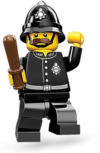 LEGO CITY UK BRITISH POLICE OFFICER MINIFIGURE COP MADE OF GENUINE LEGO PARTS