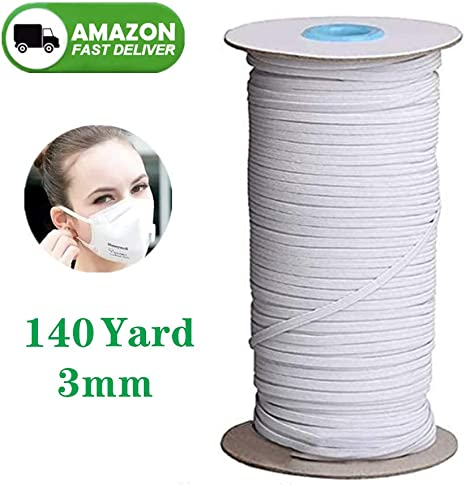 Amazon Com Pocmimut Elastic Bands For Face Mask Width Braided