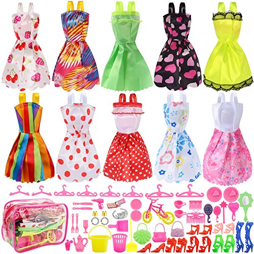 Total 66pcs - 10 Pack Clothes Pa...