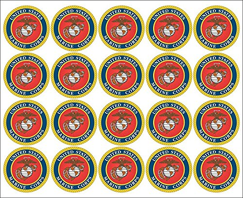 United Seal Corps Marine States (United States Marine Corps Seal 20x2