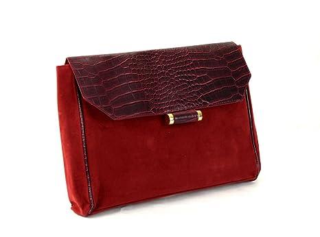 Primark - Cartera de mano para mujer Rojo rojo talla única
