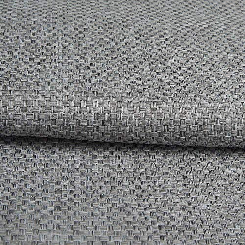 IYUEGO Solid Faux Linen Classic Room Darkening Grommet Top Curtain Draperies with Multi Size Custom 72 W x 102 L Two Panels