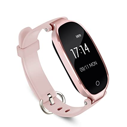 AGPTEK Lady Fitness Tracker, Fashion Smartwatch Wristband For Women,Bluetooth 4.0 /Touch Screen