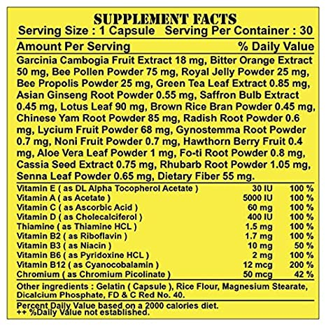 Amazon.com: 1 BOTTLE (30 CAPSULES) MARVELOUS SLIMMING MAXIMUM STRENGTH WEIGHT LOSS SUPPLEMENT.: Health & Personal Care