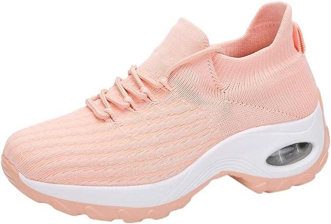 Luckycat Zapatillas Deportivas de Mujer Running Zapatos para ...
