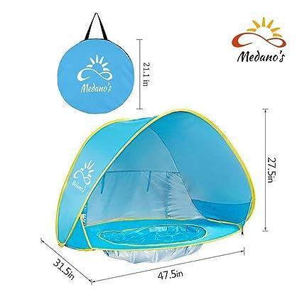 Amazon.com: Medano - Tienda de playa portátil para bebé con ...