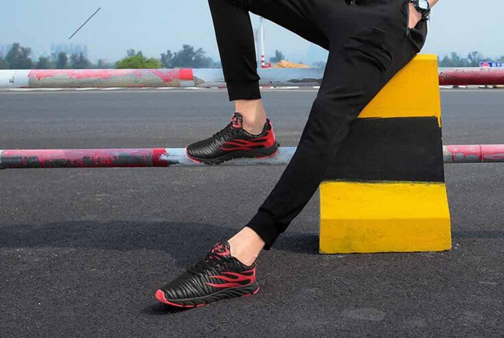 GLSHI Männer Leichte Laufschuhe Atmungsaktive Turnschuhe Turnschuhe Turnschuhe Outdoor Travel Fitness Schuhe 008744